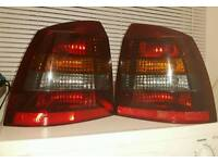 Mk4 astra g rear smoked lights