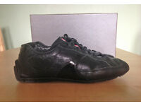 Black Prada Trainers Immaculate condition uk Size 7