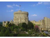 Two adult tickets Windsor Castle 9th Dec