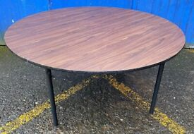 Wooden Top Foldable Trestle Tables