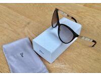 Dior Black Retro cateye sunglasses