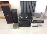 Hi Fi audio separates Collection Job Lot