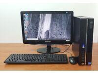 Stone PC Computer Windows 10, Intel i5-4170 4GB RAM & 500GB HDD