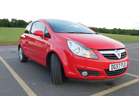 Vauxhall Corsa 1.2 i 16v SXi 3dr Nice example of Vauxhall Corsa in new shape in a nice red