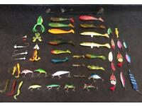 Fishing lures spinners