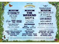 2 tickets for Longitude ticket Sunday 16th July 2017