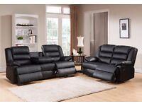 Tetra 3 and 2 seat sofa set