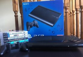 PlayStation 3 with 7 games