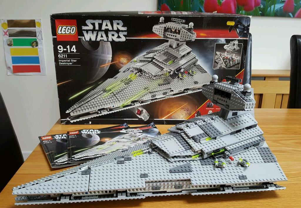 Star Wars Lego 6211 Imperial Star Destroyer 100 Complete W
