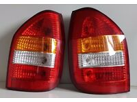 Rear Light , Vauxhall Zafira 1999-2003, Off / Near Side, Free Delivery