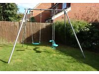 TP Double Giant Swing Frame with Deluxe Seats including Skyride