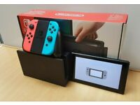 Nintendo Switch Console Boxed all accessories