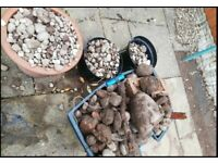 Free Garden Rubble rocks stones and sand