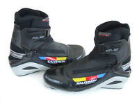 Cross-Country or Langlauf Ski Boots - Salomon Combi Pilot SNS type, UKsize 9, Eur 43⅓