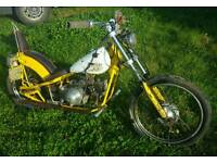 Vintage Honda 90 c90 Custom Chopper Motorbike bike project