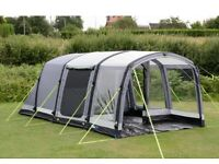 Kampa hayling 4 air beam tent and vestibule very good condition no damage or ware issues