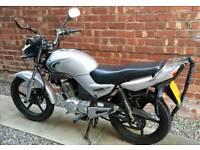 Yamaha YBR 125 Motorbike 2009