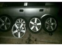 alloys wheels audi A6 245/18