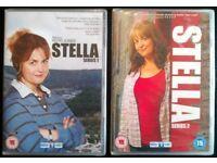 2 New DVDs: 'Stella' Series 1 & 2 (6 disks total)