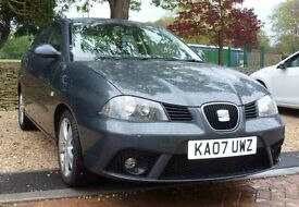 2007 SEAT IBIZA 1.4 Sport ** 10 Service Stamps last 10/02/17 ** Great runner