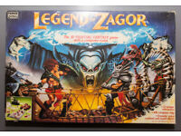 LEGEND OF ZAGOR BOARD GAME. VERY COLLECTIBLE.