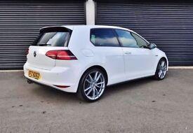 2014 VOLKSWAGEN GOLF GTD 2.0 TDI 184 WHITE *3 DOOR* NOT AUDI A3 A4 A5 A6 BMW 320D JETTA LEON FR