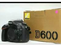 NIKON D600 Full Frame *near Mint