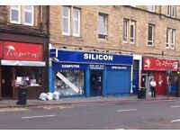 Shop / Office Unit To Let Central Edinburgh High Footfall Excellent Location