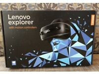Lenovo Explorer Virtual Reality Headset + Controllers BOXED