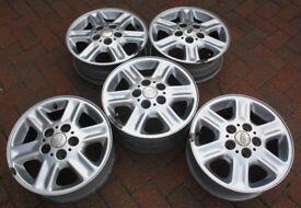 "Landrover Freelander 15"" Alloy Wheels, Set of 5, 5½J x 15H2ET46"