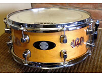 13x5 Custom Maple snare drum