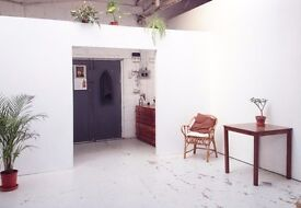 Artist Studio Space Available in Shared Warehouse E1