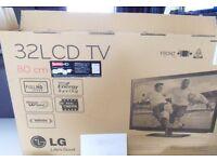 """32"""" LG 32LD490 FreeviewHD 1080P TV Boxed"""