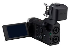 Designed for both music and video creators, the Zoom Q8 Handy Video Recorder
