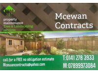 Mcewan Contracts Tree & Landscaping Services