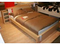 Ikea Malm bed-frame and mattress