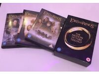 LORD-OF-THE-RINGS-Trilogy (DVD-2005-6-Disc-Set-in-Box) Never played