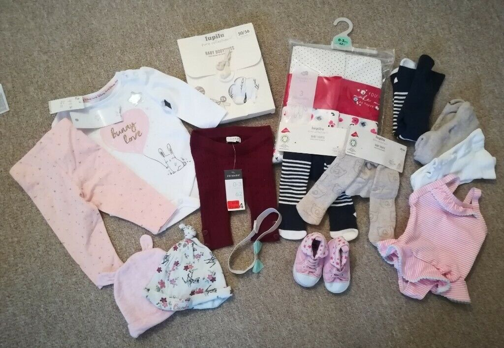 Girls' Clothing (0-24 Months) Girls 0-3 Months Bundle