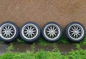 """17"""" alloys 5x100 and 5x114.3"""