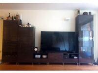 DISCOUNTED - Ikea tv stand ++ storage combination