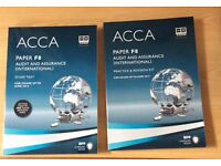 ACCA paper F8 study, practice & revision kit