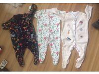 Baby girl 0-3 months bundle