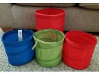 4 Storage Baskets