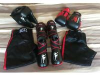 Kickboxing / Martial Arts Sparring Kit (Size XS - Small)