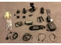 Contour Plus HD action camera with many extras