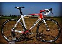 Colnago CLX 52cm Carbon Road Bike -Campagnolo Super Record 11sp Groupset & Rolf Prima Echelon Wheels