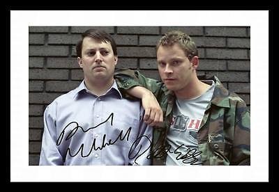 PEEP SHOW AUTOGRAPHED SIGNED & FRAMED PP POSTER PHOTO