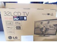 "LG 32"" 32LD490 1080P FreeviewHD Boxed as New TV"