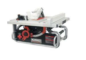 Brand New King Canada 10 Portable Worksite Table Saw