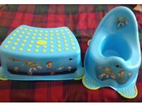 Toy story potty and step